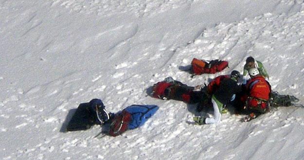 Imagen del accidente del pasado domingo en Gredos. /JCYL