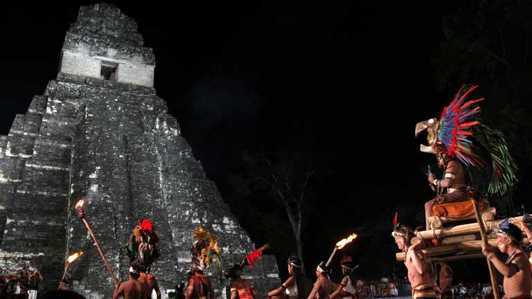 El fin de era espiritual maya se hace notar en todo el globo debido a su lectura errónea como el fin del mundo