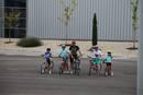 Una familia ciclista