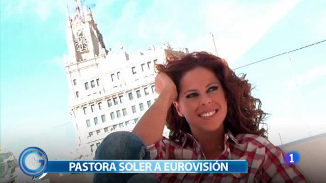 Más Gente - Pastora Soler está convencida del apoyo de sus fans en Eurovisión 2012