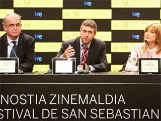 Ver vídeo  'FAPAE reconoce en San Sebastián el apoyo de TVE al cine en España'