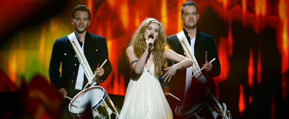 Las favoritas Dinamarca, Rusia y Ucrania pasan a la final del Festival de Eurovisión 2013