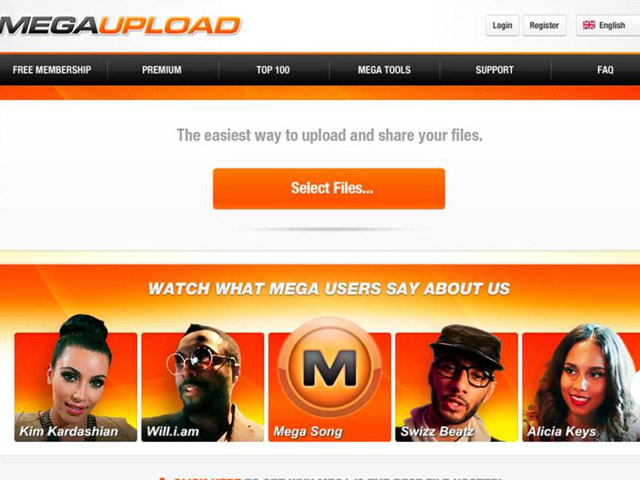 El FBI cierra Megaupload