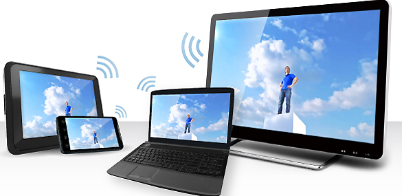 Wi-Fi Display permite compartir contenidos multimedia entre dispositivos, sin cables