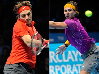 Ver v?deo  'Federer bate a Nadal en la Copa Masters'