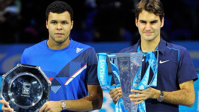 Federer gana el Masters a Tsonga