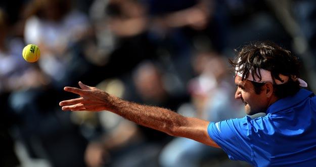 Federer superó a Berlocq en su primer partido del Masters 1000 de Roma