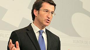 Ver vídeo  'Feijóo aboga por una inyección de capital en Novagalicia similar a la de Bankia'