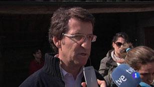 """Ver vídeo  'Feijóo: """"Queremos saber quíen prende, quién atenta contra nuestro patrimonio""""'"""