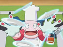Imagen del  vídeo de Pokémon Advanced Battle titulado ¡FELICITACIONES AL CHEF!