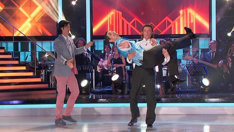 """Mira quién baila - Felipe y Colate, la pareja más """"mareada"""" de la noche"""