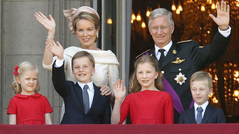 Felipe jura como nuevo rey de Bélgica