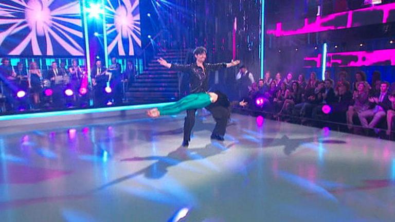 Mira quién baila - Felipe López se defiende con música disco