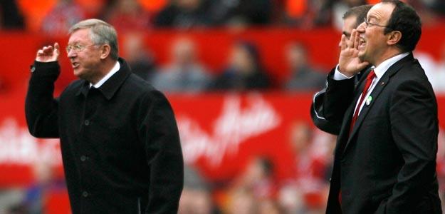 Ferguson y Benítez, dos 'clásicos' ya en el partido mítico de la Premier.