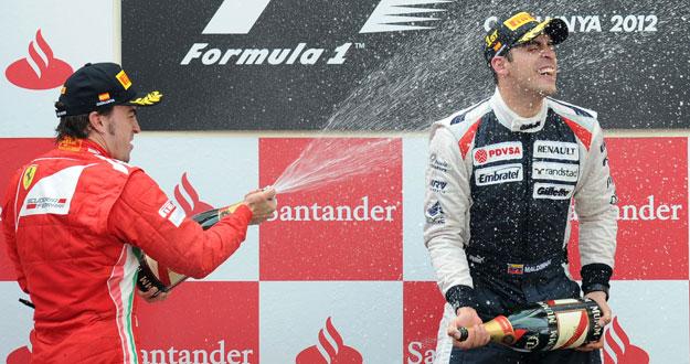 Fernando Alonso y Pastor Maldonado