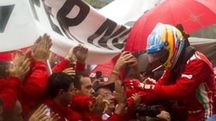 Fernando Alonso, el subcampeón que peleó hasta el final