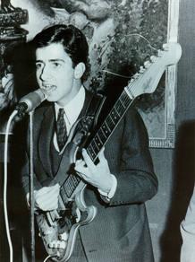 El músico y periodista, de joven (Foto: RTVE)