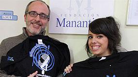 Fernando Guillén en la Fundación Manantial