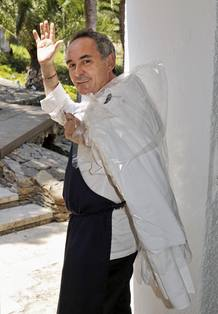 Ferrán Adriá se despide de El Bulli.