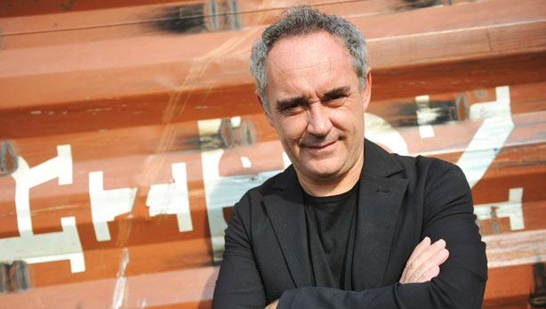 Ferran Adrià visita el plató de 'Entrevista a la carta'