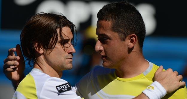 Ferrer y Almagro dejaron todo anoche en Melbourne.(As)