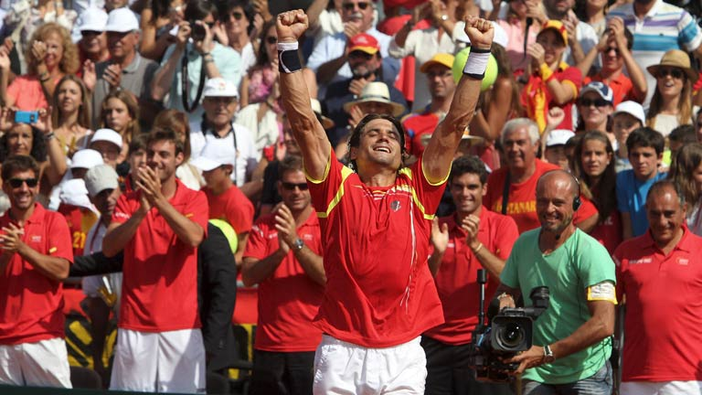 Ferrer logra el punto que pone a Espa&ntilde;a en su novena final de Copa Davis