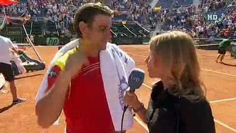 """Ver vídeo  'Ferrer: """"Ha sido un partido muy duro, pero he estado bien de cabeza""""'"""
