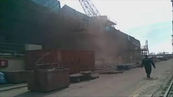 Fibras de amianto en el aire, Astilleros de Valencia (1982)