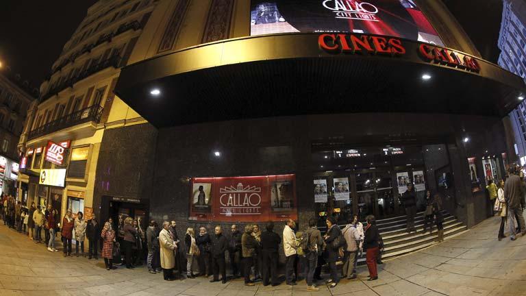 Los espectadores demuestran su interés por el cine en la Fiesta del Cine
