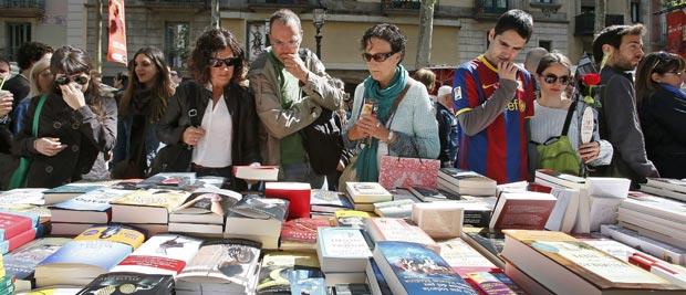 La fiesta de Sant Jordi, éxito de ventas