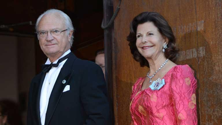 40º aniversario de la coronación del rey Gustavo en Suecia