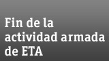 Fin de la actividad armada de ETA