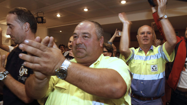 Fin de la huelga de basuras en Lugo