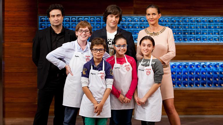 MasterChef Junior - Ana Luna, Esther, Juan y Mario son los finalistas de MasterChef Junior