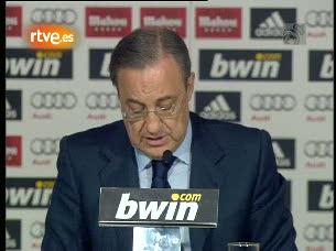 Ver v?deo  'Florentino: 'El Madrid necesita a Mourinho''