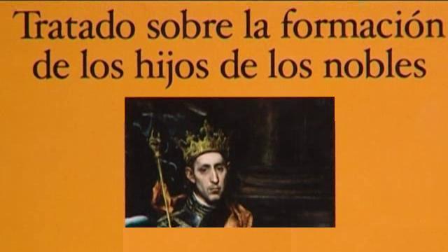 UNED - Tratado sobre la formación de los hijos de los nobles - 13/01/12