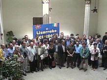 Foto de 'familia' de los firmantes del pacto de Estella