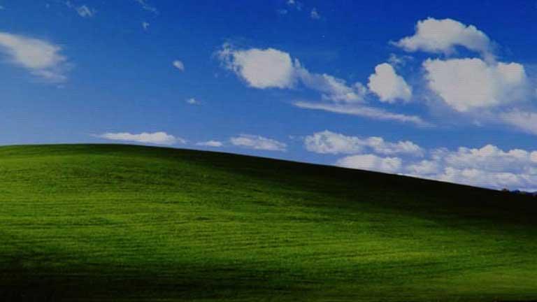 La foto más reconocible de la historia: el escritorio por defecto de Windows XP
