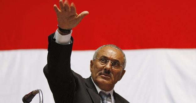 Fotografía de archivo del presidente yemení, con fecha de febrero de 2011