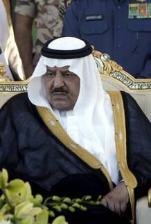 Fotografía de archivo del príncipe heredero de Arabia Saudí, Nayef bin Abdelaziz.