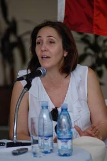 Fotografía de Mariela Castro tomada el 16 de mayo de 2012