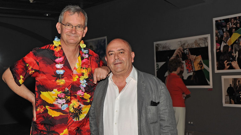 El fot&oacute;grafo Martin Parr expone en Barcelona su &quot;experiencia tur&iacute;stica&quot;