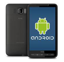Fotografía de un teléfono HTC con Android