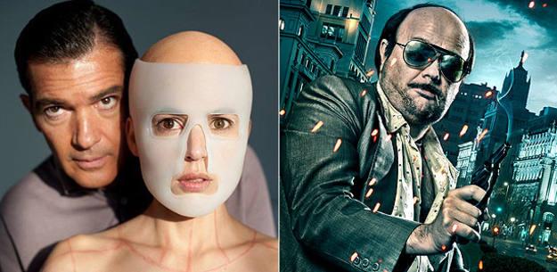 Fotografías promocionales de 'La piel que habito' y 'Torrente 4'