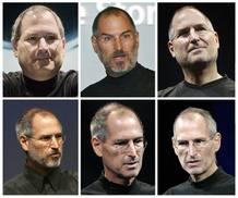 Fotografías de Steve Jobs que muestran cómo ha cambiado a lo largo de los años