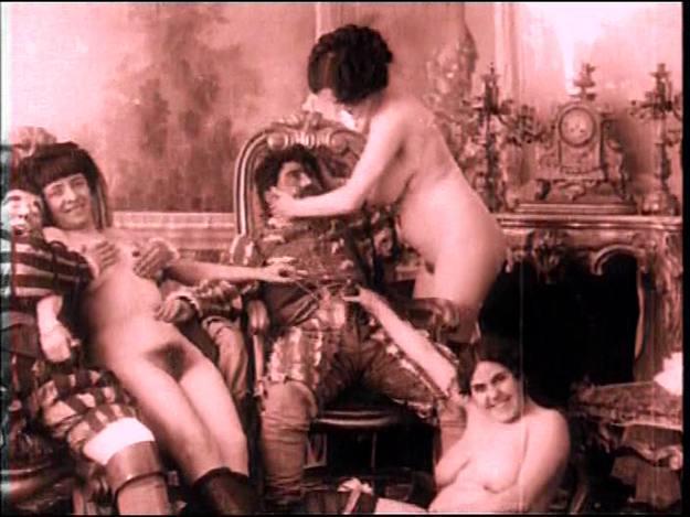 Fotograma de una de las primeras películas eróticas de la historia del cine.