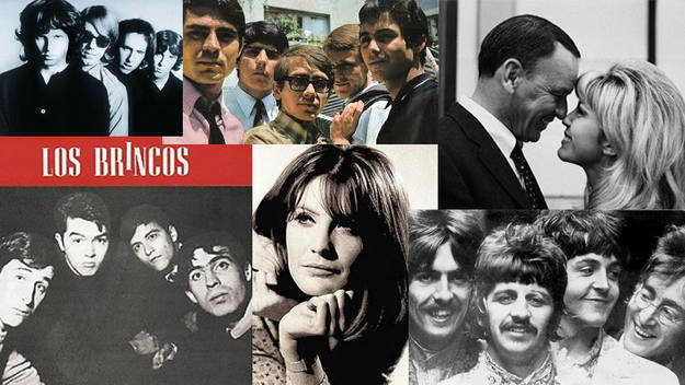 Los grandes éxitos de la música de 1967