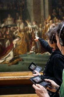 La audioguía proporcionará sonido e imágenes para ayudar a los visitantes a ampliar sus conocimientos sobre las distintas piezas de arte y exposiciones que aloja el museo.