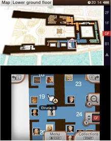 Mapas interactivos, animaciones en 3D e información extra sobre las obras acompañarán la visita