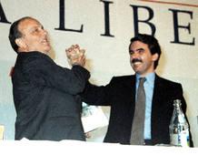 Fraga entrega el testigo a José María Aznar
